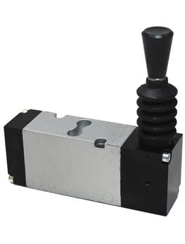 """Válvulas con base montada BC 1/4""""   Operador mecánico"""