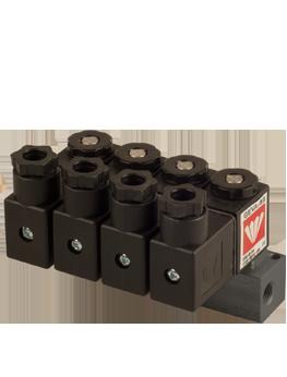 G80-M | Colector de válvulas solenoides