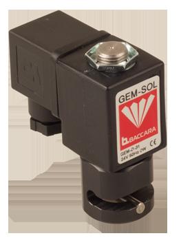 GEM-P | Válvula de pinzamiento 2 vías NC