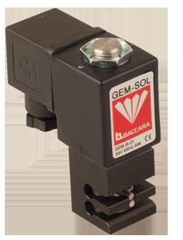 GEM-P | Válvula de pinzamiento 3 vías