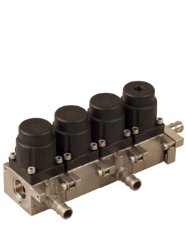 GC-SM | Stackable manifold 2W NC, NO