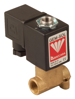 GEM-A | Large orifice 3W NC, NO (pressure & vacuum)
