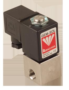 GEM-A | Large orifice 2W NC, NO (pressure & vacuum)
