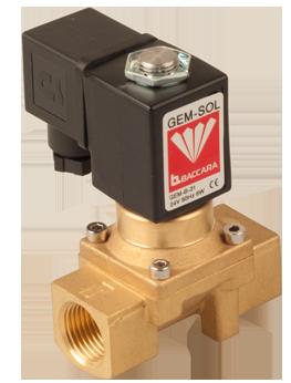 GEM-Z   Zero differential pressure 1/4″-3/4″ 2W NC, NO
