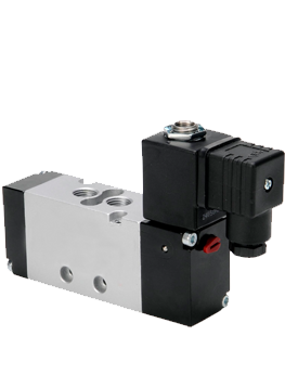 BC 1/4″ Body Ported   Solenoid Operated